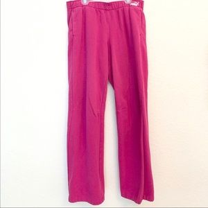 Women's Hot Pink Puma sweatpants